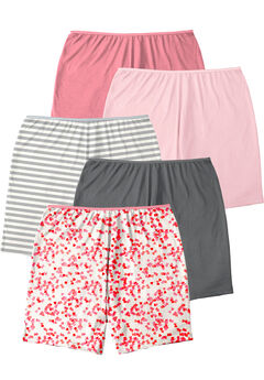 5-Pack Cotton Boxer , ROSE HEART PACK