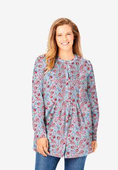 Perfect Pintucked Shirt,