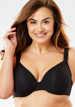 Cotton Underwire T-Shirt Bra by Comfort Choice®,