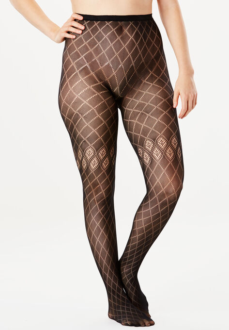 2b09f5d8912 2-Pack Patterned Tights