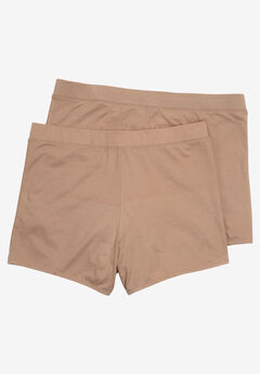2-Pack Comfort Waist Supersoft Boyshort,