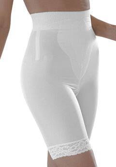Medium Shaping Long-Leg Shaper by Rago®, WHITE, hi-res