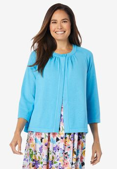 Single Button Shrug Cardigan,