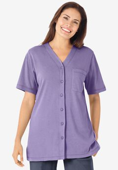 Short-Sleeve Baseball Shirt,