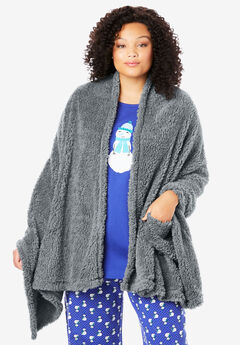 Sherpa Fleece Wrap,