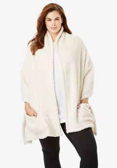 Sherpa Wrap Robe,