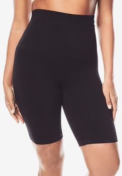 Seamless Thigh Slimmer , BLACK