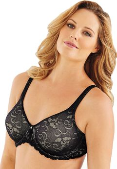 Lilyette® by Bali® Beautiful Support lace Minimizer®,