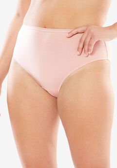 High-Cut Brief by Comfort Choice®, ROSE NUDE, hi-res