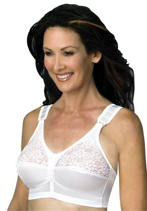 3c63d50edb7ef Back Hook Mastectomy Comfort Plus Bra by Jodee   Plus Size ...