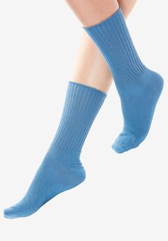Comfort Choice® Rib-Knit Sock 6-Pack,