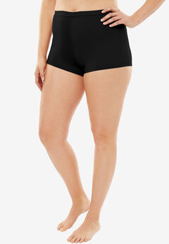 No-Show Boyshort by Comfort Choice®, BLACK