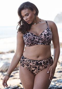 Cross-Front Bikini Top by Swim 365,