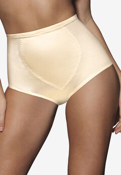 Moderate tummy control brief 2 pack by Bali®, LIGHT BEIGE, hi-res
