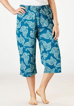 Knit Sleep Capri by Dreams & Co.®,