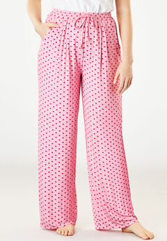 Sweet Dream Pajama Pants by Dreams & Co.®, LIGHT PINK DOT, hi-res