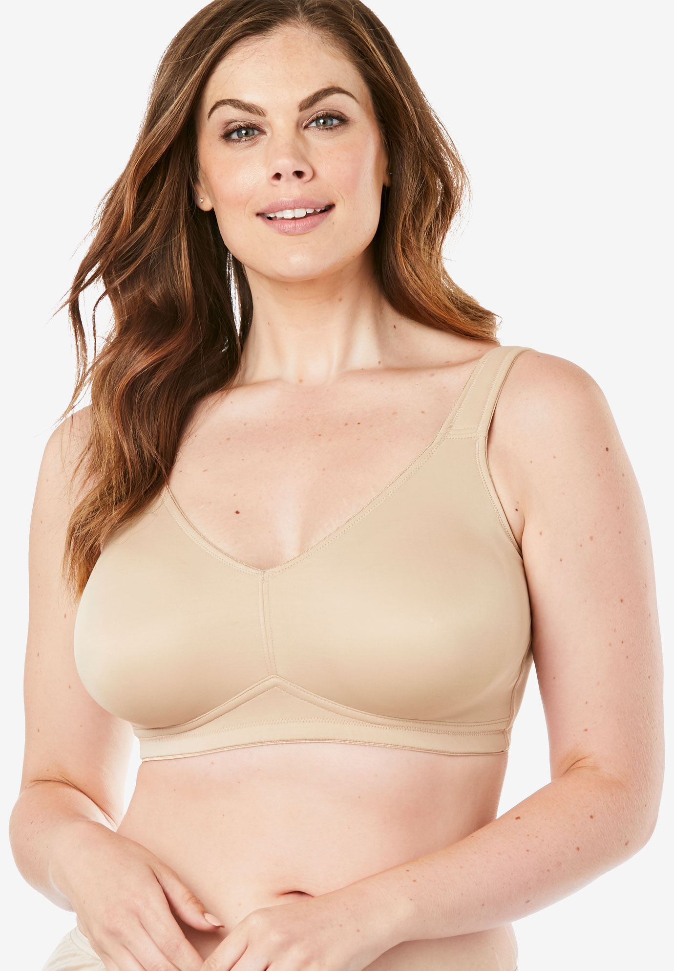 Leading Lady 5006 Dreamy Comfort Every-Day Wirefree Bra