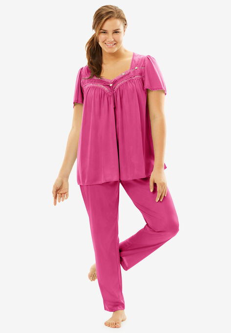 56ed707762f Silky 2-Piece PJ Set by Only Necessities®
