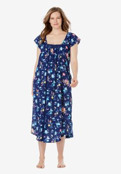 Whisperweight Gauze Nightgown by Dreams & Co.®,