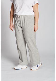 Women's Plus Jersey Pants ,