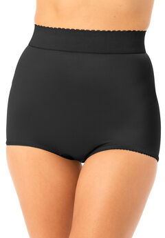 Light Control High-Waist Brief, BLACK