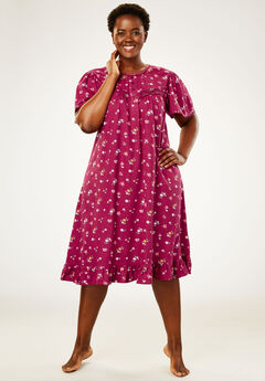 Cotton Print Nightgown by Dreams & Co.®,