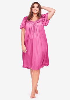Full-Sweep Nightgown by Only Necessities®, BRIGHT BERRY, hi-res