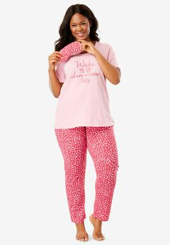 PJ Set with Free Eye Mask by Dreams & Co.®,