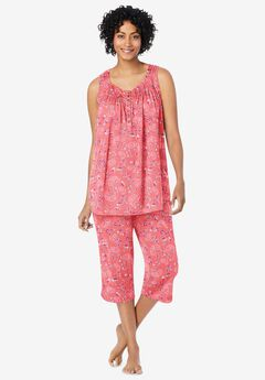 Cooling Pajamas , SWEET CORAL FLOWERS