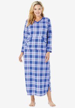 Long Printed Sleep Shirt by Dreams & Co.®,