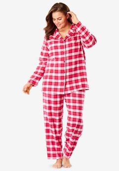 Plaid Flannel PJ Set by Dreams & Co.®,