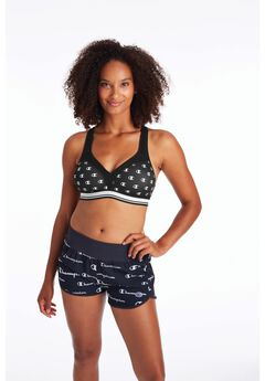 The Curvy Print Sports Bra ,