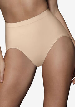 Seamless firm control shaping brief 2 pack by Bali®, SOFT TAUPE