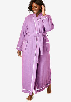 6f6d6a80cf Spa Terry Long Wrap Robe by Dreams   Co.®