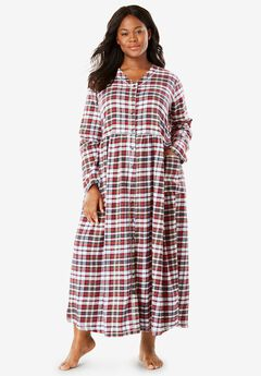 Flannel Plaid Lounger by Only Necessities®, , hi-res