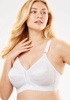 18 Hour® Wireless Bra by Playtex®, WHITE, hi-res
