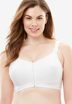 Comfort Choice® Cooling Posture Bra, WHITE, hi-res