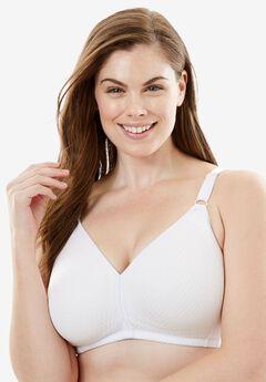 Comfort Choice® Wireless Bra, WHITE, hi-res