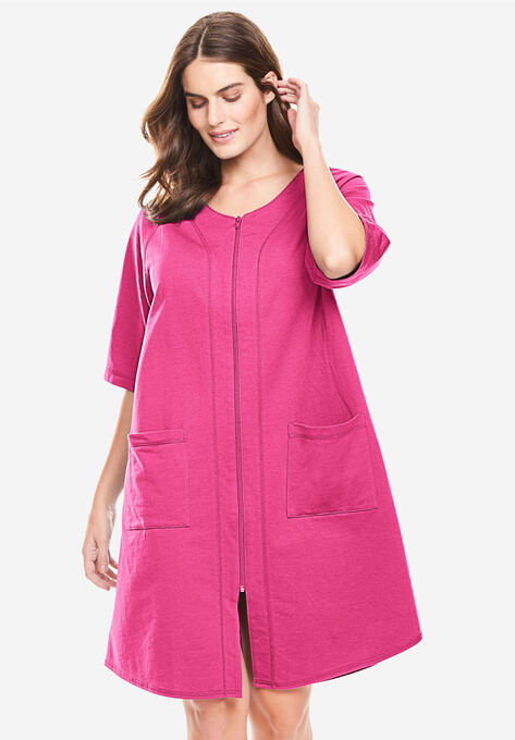 1e565be467b Short Sleeve French Terry Robe by Dreams   Co.®