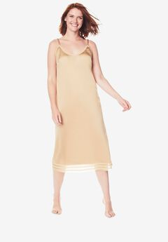 Snip-to-Fit Dress Liner by Comfort Choice®, NUDE, hi-res