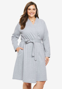 Short Wrap Terry Robe by Dreams & Co.®,