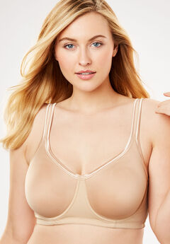 Underwire Spacer T-Shirt Bra by Comfort Choice®, NUDE