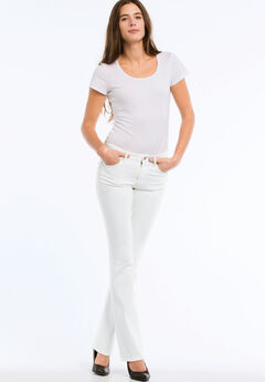 Bootcut Jeans by ellos®, WHITE