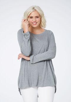 High/low Shirttail Hem Tunic by ellos®,