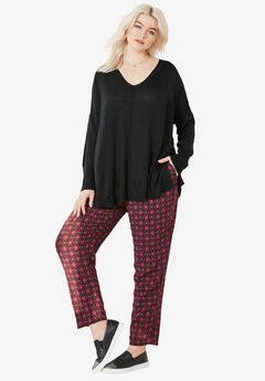 Woven Soft Drawstring Pants by ellos®,
