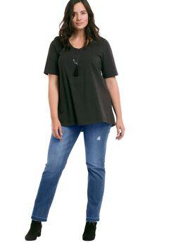 Frayed Hem Jeans by ellos®,