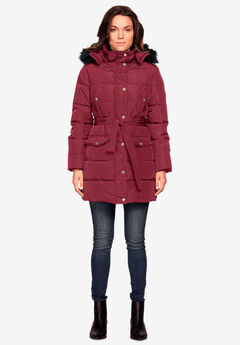 Belted Puffer Coat by ellos®,