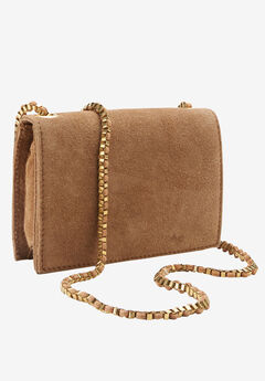 Convertible Small Suede Purse by ellos®,