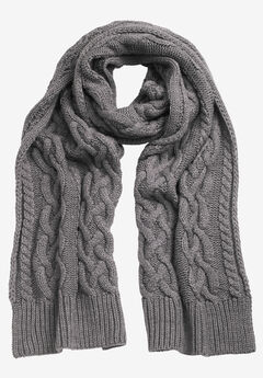 Cable Knit Scarf by ellos®,