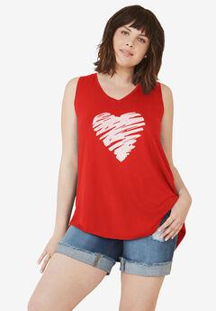 Love Ellos Tank by ellos®,